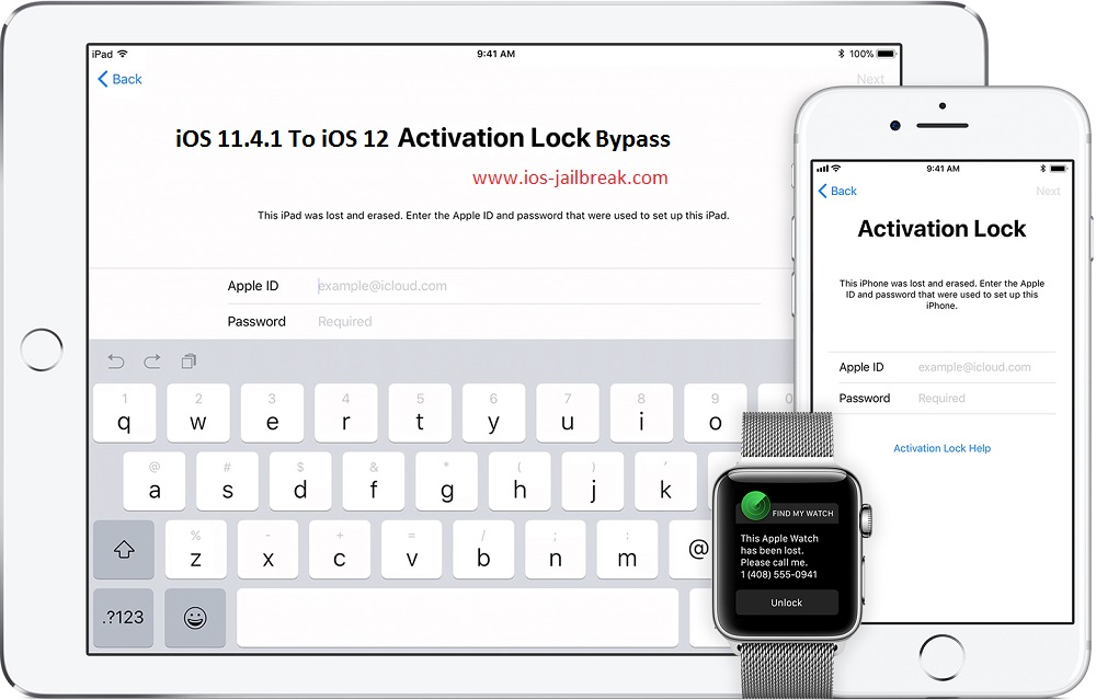 MAC Windows iCloud Bypass Tools [100% Working] iOS 11.4.1