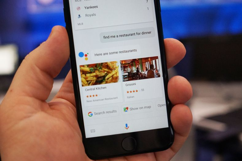 iOS 13 Google Assistant
