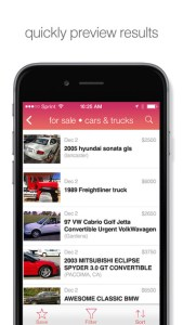 scout for craigslist iphone app review ss2