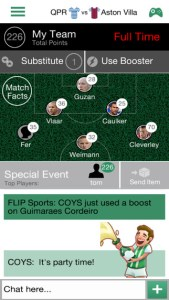 flip sports iphone app review ss1