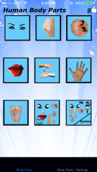 body parts - basic iPhone app review ss1
