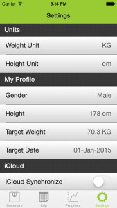 my weight tracker pro iphone app review ss4
