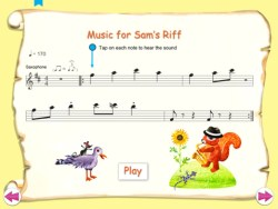 sam plays saxophone ipad app review ss2