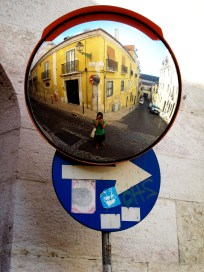 Reflection, Lisbon, Portugal