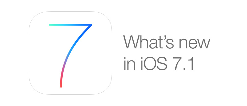 What's new in iOS 7.1 for iPhone and iPad