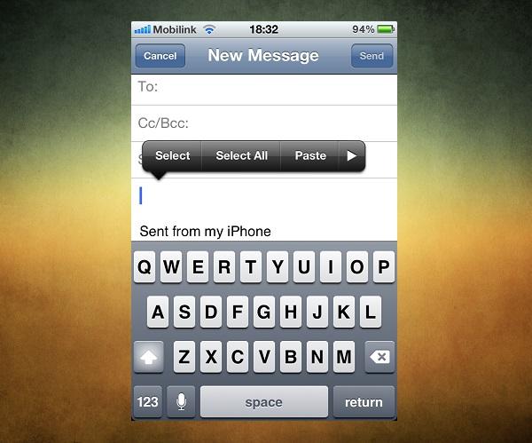 email limit iOSHacker