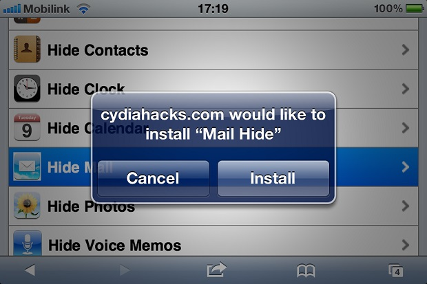 hide stock iOS apps (1)