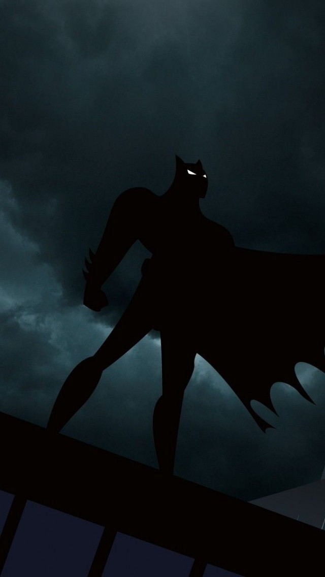 Batman Dark sky iPhone 5
