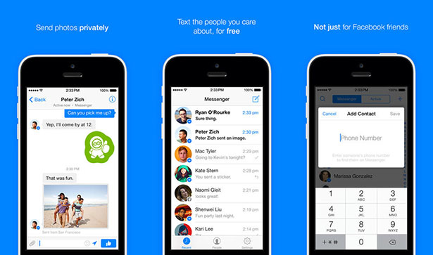 Facebook Messenger gets redesigned for iOS 7 and adds ...