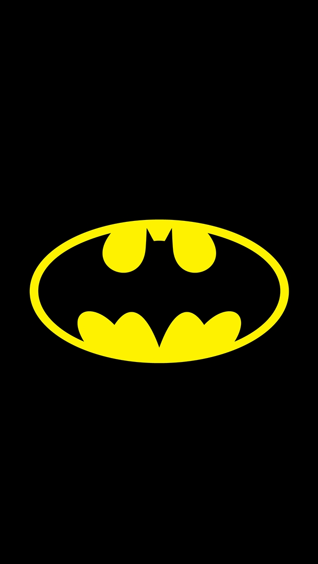 batman wallpaper iPhone 5s simple logo