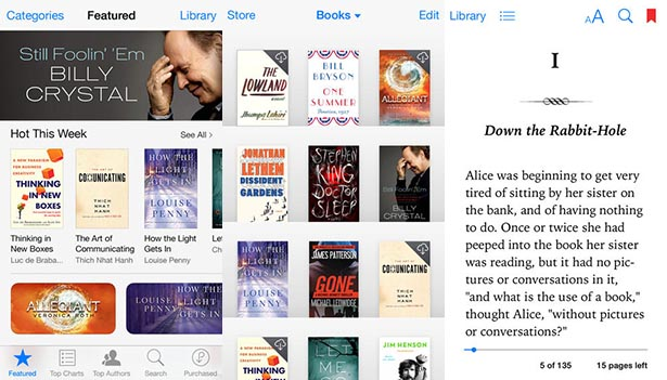 iBooks iOS7
