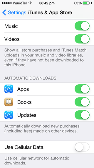 automatic app updates iphone how to make iphone or app updates 13528