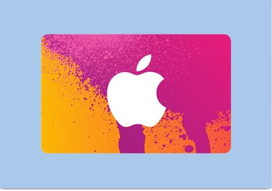 Apple iTunes Card