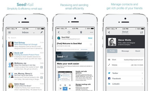 Seed Mail app