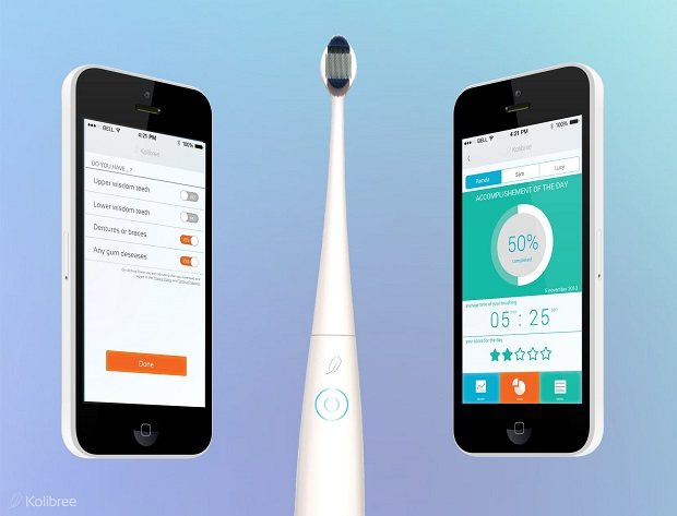 Kolibree wireless toothbrush iPhone