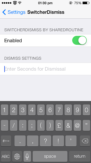 SwitcherDismiss tweak
