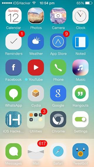 redsgn iOS 7 theme