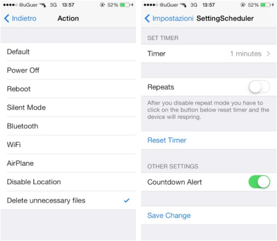 SetScheduler tweak