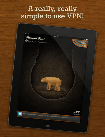 TunnelBear VPN iOS