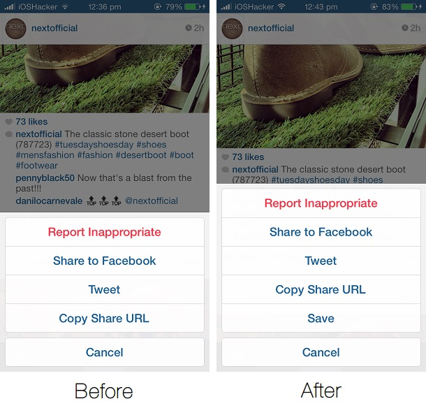 use savegram to save instagram photos and videos on your