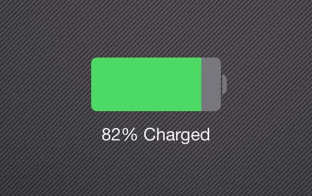 iOS battery