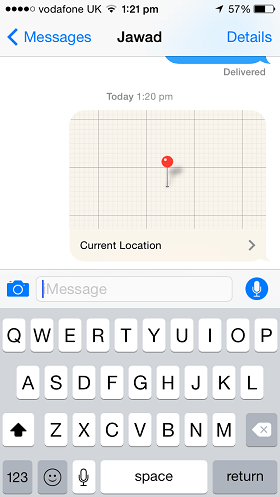 iMessage location how to iOS 8 (3)