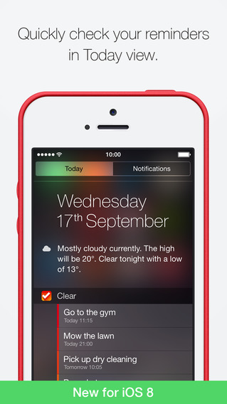 Clear iOS 8