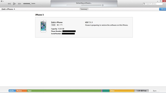 iOS 7-1-2 install