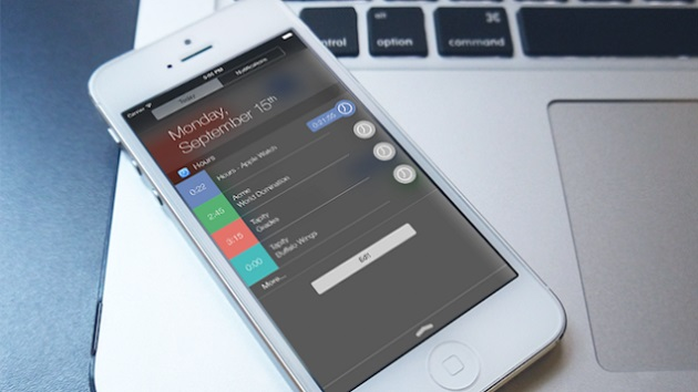 iOS 8 nc widgets