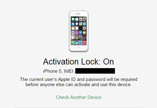 Activation Lock iPhone