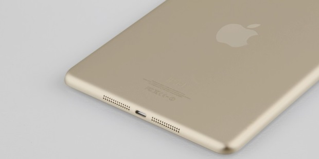 iPad mini gold option