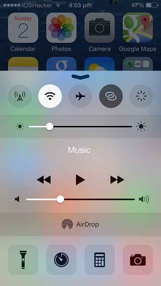CCSettings for iOS 8