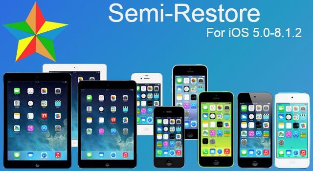 Semi-Restore iOS 8