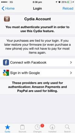 Cydia redesign 2