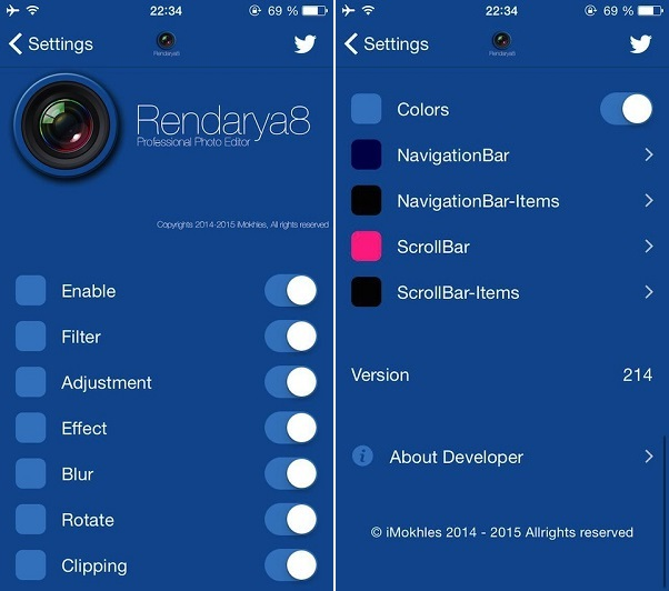 rendarya8 tweak