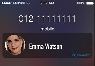 PhoneCaller tweak displays caller ID for unknown numbers