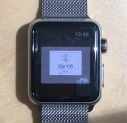 Apple Watch Mac OS