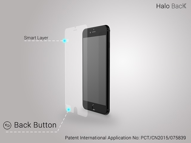 Halo back smart-layer