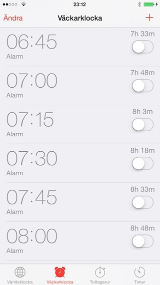 TimeUntilAlarm tweak