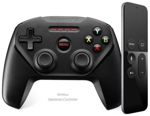 Apple TV game remote