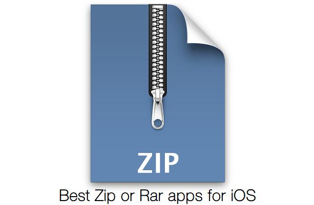 download zip video file on ipad