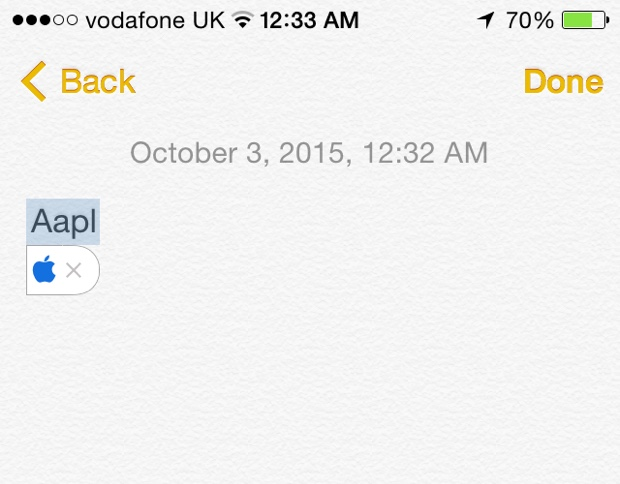 How to type Apple logo () on iPhone, iPad or iPod touch