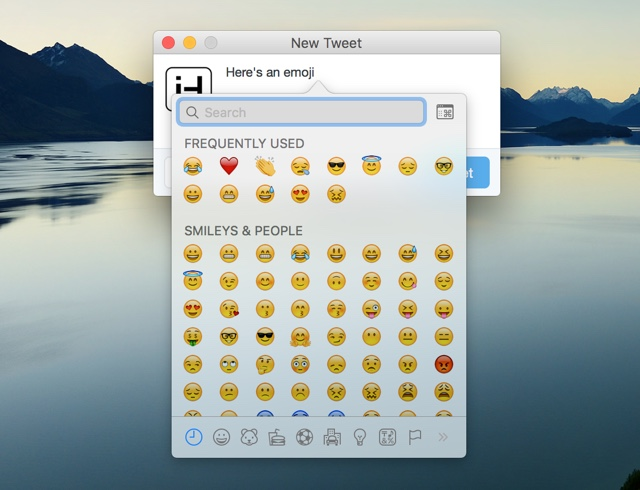 how to connect emoji to keyboard
