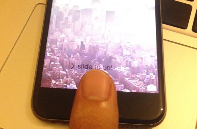Touch ID fingerprint 6s