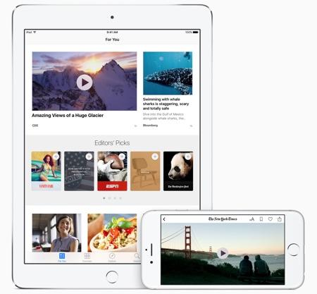 Apple News iOS 9.3