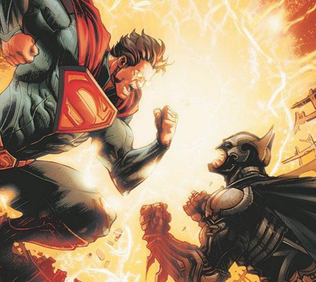 Batman vs superman feat