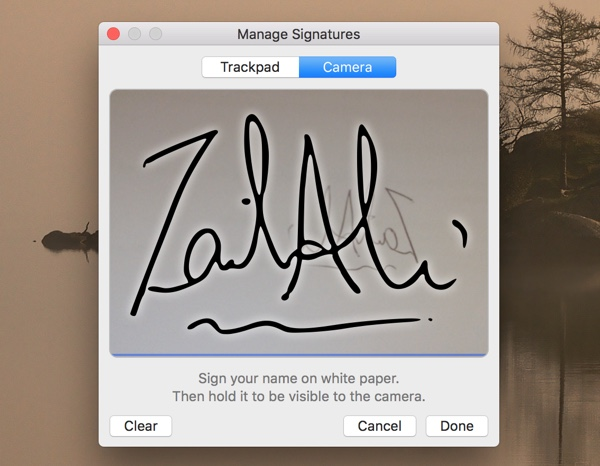 How to add your signature to Mac and insert it into a PDF