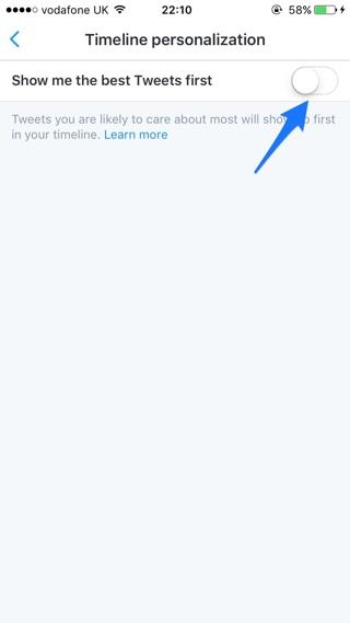 Twitter iOS Setting (2)