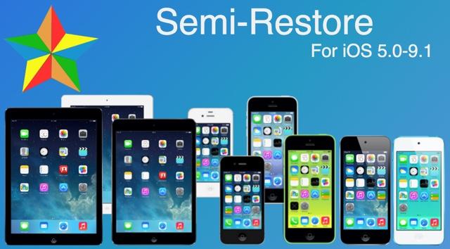 Semi-Restore iOS 9