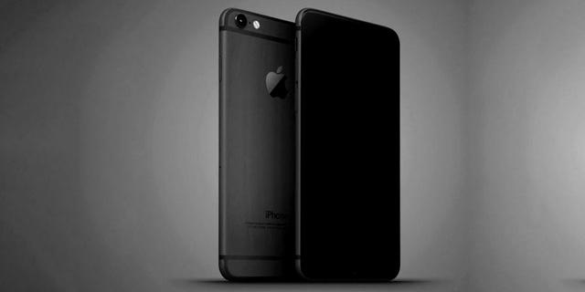 iPhone 7 black render
